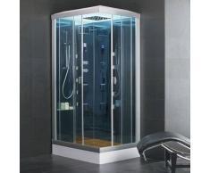 ECO-DE Cabina ducha Hidromasaje con Sauna INSPIRATION 110X85X225 Cm