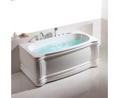 Bañera de hidromasaje ECO-DE® MYKONOS 170x90x65 cm