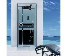Cabina Hidromasaje con Sauna ECO-DE® MINIMAL 90x90x210cm