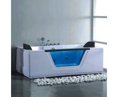 Bañera de hidromasaje ECO-DE® SEVILLA FULL 170x90x57 cm