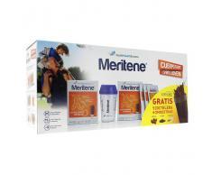 Meritene Pack 2 Unidades Polvo Chocolate 15 Sobres 30 gramos + REGALO Coctelera + 3 Sobres