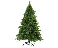 Gifts 4 All Occasions Limited SHATCHI-568 - Árbol de Navidad artificial con 3 puntas diferentes, color verde , color/modelo surtido