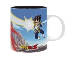 ABYstyle - DRAGON BALL - Taza - 320 ml - Goku VS Vegeta