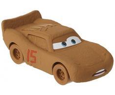 Cars Vehículo Rayo McQueen Hero Chester Wipplefilter, coche de juguete (Mattel DXV51)