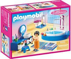 PLAYMOBIL PLAYMOBIL-70211 Dollhouse Baño, Multicolor, Talla única (70211)