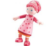 Haba 300512 Figura de Juguete para niños Rosa Chica 1 Pieza(s) - Figuras de Juguete para niños (Rosa, 3 año(s), Metal, De plástico, Chica, 95 mm, 60 g)
