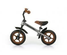 MILLY MALLY Dragon Infantil Unisex Ciudad Acero Negro, Marrón, Plata bicicletta - Bicicleta (Ciudad, Acero, Negro, Marrón, Plata, 25,4 cm (10), Sin Cadena, Infantil Unisex)