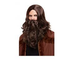 Hen Party Superstore Smiffys 50752 Viking - Juego de utensilios para barbacoa para hombre, color marrón