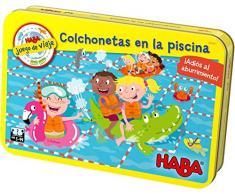 HABA- Juego de Mesa, Colchonetas en la Piscina, Multicolor (Habermass H304921)