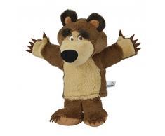 Mascha und der Bär Simba 109308207 – mascha y el Oso Oso de Peluche marioneta de Mano 28 cm