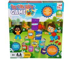 Sambro - Lata de Lata, diseño de callejón de jardín al Aire Libre, Juguetes de Fiesta para niños pequeños