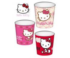Hello Kitty - Papelera 3 Modelos, 22 x 21 cm (Montichelvo 20251)