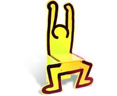 Vilac 48 x 23 x 72 cm Keith Haring Silla (Amarillo)