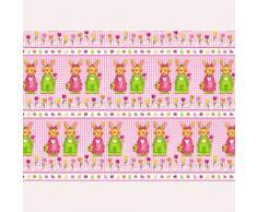 SUSY CARD 11439833 – Papel de regalo conejo de Pascua par, 2 m
