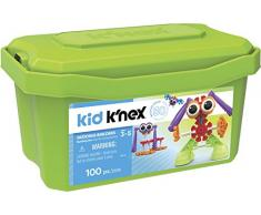 Knex- Knex Kid Baúl Constructores 50 Ideas 100 Piezas (Fábrica de Juguetes 41225)