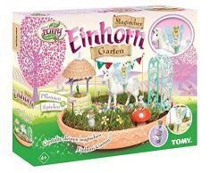 My Fairy Garden Conjunto de Juguetes Tomy, Unicornio mágico de jardín para niños a Partir de 4 años para Sus propias Plantas y para Jugar, 1x Juego de Unicornio de jardín, incluyesemillas de Hierba