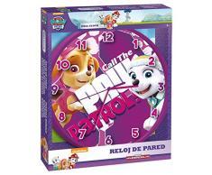 Patrulla canina - Reloj de pared (Kids Euroswan PW16275)