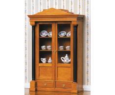 Biedermeier vitrina armario para la casa de muñecas Kit