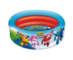 Super Wings - Piscina 3 aros, 86 cm diámetro (77033)