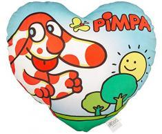 PIMPA Peluche Cojín Corazón 38 cm