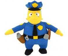 United Labels 1001399 – The Simpsons – Figura de Peluche Chief Wiggum, Aprox. 31 cm