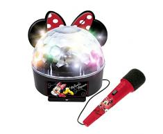 Minnie and You- Bola de luces con amplificador, Bluetooth y micrófono (Claudio Reig 5264)