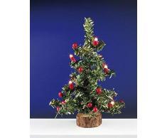 Kahlert 40.905 luz - Muñeca Mini Accesorios - Árbol de Navidad Grande