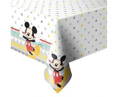 Procos- Mantel plástico 120 x 180 cm Mickey Mouse Awesome, Multicolor, 5PR89004