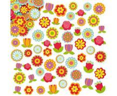 Baker Ross ET836 - Pegatinas de Espuma para Flores (144 Unidades)
