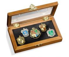 Pin de la casa de Hogwarts: Cinco Pines en la Vitrina. Colección Harry Potter Noble