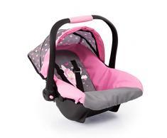 Bayer Design Silla de coche Easy Go, accesorios, Asiento para bebé de Muñecas, color gris hadas y motivos modernos (67966AA) , color/modelo surtido