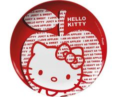 Plato Llano 24,5 cm Modelo Hello Kitty Apple