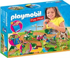 PLAYMOBIL- Play Map Paseo con Ponis Juguete, Multicolor (geobra Brandstätter 9331)