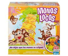Mattel Games Monos locos, juego de mesa infantil (Mattel 52563)