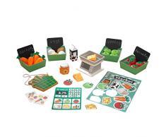 KidKraft- Juego de accesorios Farmers Market (accesorios para cocinas de juguete) (53540)