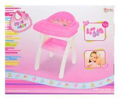 Toi-Toys 02011A - Silla Infantil para muñeca, Incluye Accesorios, Aprox. 44 cm.
