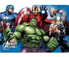 Ciao 33909 Marvel Avengers Mighty Mantel Plástico, Multicolor