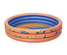 Piscina Hinchable Infantil Bestway Hot Wheels Ø122x25 cm