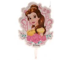 Dekora Vela de Cumpleaños 2D Bella Disney, color amarillo (346002)