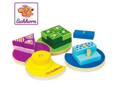 Eichhorn 100002234 juguete de habilidad motora Multicolor Madera - Juguetes de habilidades motoras (Multicolor, Madera, Child, Niño/niña, 1 año(s), 4 año(s)) , color/modelo surtido
