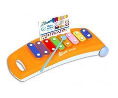 Bontempi XLR 0825 juguete musical - juguetes musicales (Cualquier género, Naranja)