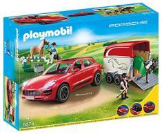 Playmobil- Porsche Macan GTS Cars Juguete, (geobra Brandstätter 9376)