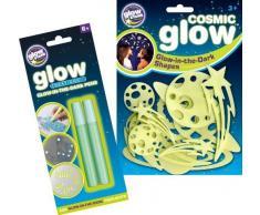 The Original Glowstars Company - Pegatinas para pared y cristal (Brainstorm B8998)
