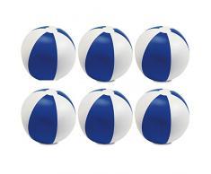 eBuyGB 1304304-12 - Juego de Piscinas hinchables (22 cm, 12 Unidades), Color Azul
