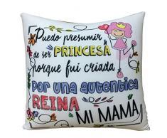 ARTEMODEL Mama Princesa cojín Lycra peq, Multicolor (1)