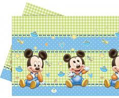 Unique Party 71987 - Mantel de plástico para bebé (1,8 x 1,2 m)