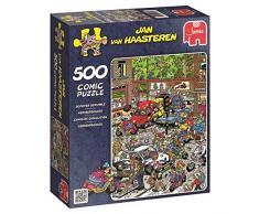 Jumbo - Puzzle Scooter Scramble, 500 piezas (617465)
