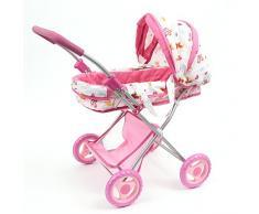 Mama Mia Glam, Cochecito de muñecas de juguete, la fantasía de las mariposas y las flores (Mamatoy MMA06000)