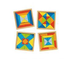 Goki 57572 Puzzle - Rompecabezas (Rompecabezas para Suelo, Preescolar, 3 año(s), Madera, Multicolor, CE)