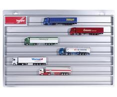 Herpa 029711 – Camiones Vitrina Euro Longitud, vehículos, Plata